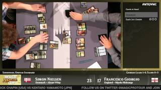 World Magic Cup 2014 Semifinals (Unified Standard): Denmark vs. England