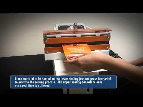 Sealer Sales W 300DAT(S) Table Top Direct Heat Sealer W-300DAT(S) Table Top Direct Heat Sealer