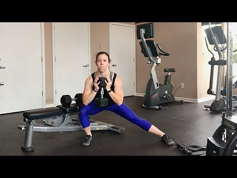 Goblet Lateral Lunge