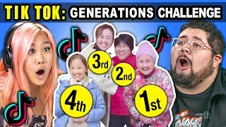 AMERICAN Generations React To CHINESE Generations TikTok Meme Compilation