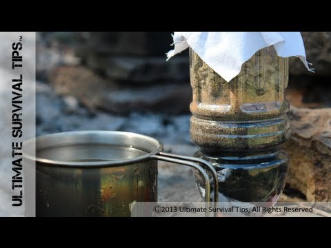 SHTF #4 Filtering & Purifying Water in the Wilderness!