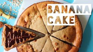Healthy Cake Recipe | How To Make Low Calorie Banana Cake