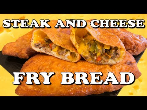 Steak And Cheese Fry Bread - Handle It