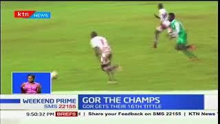 GOR THE CHAMPS: Gor Mahia 1-0 Ulinzi