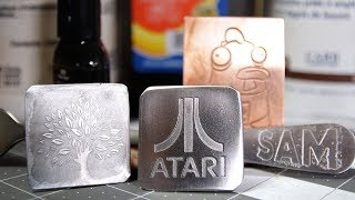 How To Etch Stainless Steel And Copper, DIY Etchant, Plus Alternative To Press-N-Peel