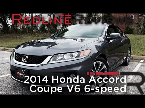 2014 Honda Accord Coupe V6 6-speed Review