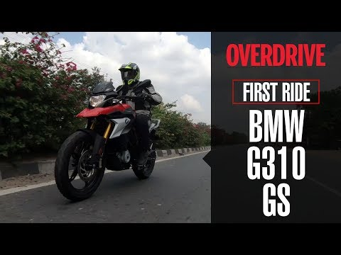 BMW G 310 GS India first ride review | Details, specifications and price | OVERDRIVE