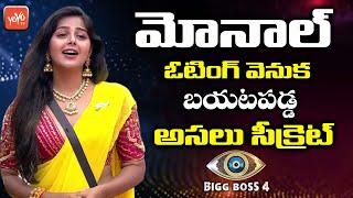 Monal Gajjar Bigg Boss 4 Voting Secrets | Bigg Boss 4 Telugu 6th Week Voting | Star Maa | YOYO TV