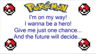 Pokemon Advanced: I Wanna Be A Hero Theme Song + Lyrics