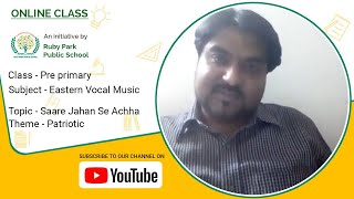 Saare Jahan Se Achha | Eastern Vocal Music for Pre-Primary | Ruby Park Public School Thumbnail