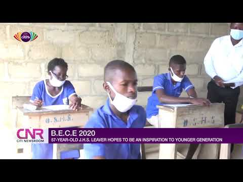 57-year-old BECE candidate hopes to be an inspiration for all young people | Citi Newsroom