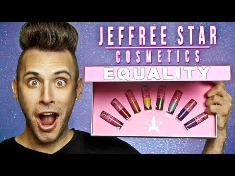 NO BULLSH*T Jeffree Star EQUALITY Lipstick Review!