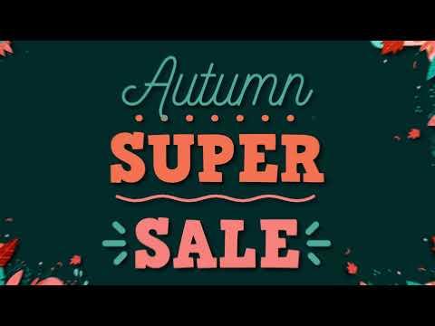 Autumn Super Sale 2021
