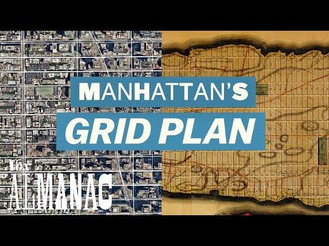 How Manhattan was Designed