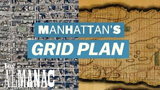 Where Manhattan's grid plan came from
