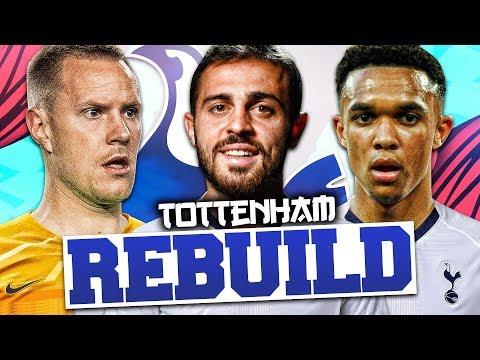 REBUILDING TOTTENHAM HOTSPUR!!! FIFA 20 Career Mode