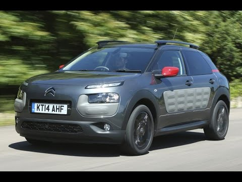Citroen C4 Cactus - 2015 What Car? Small SUV of the Year, less than £16,000