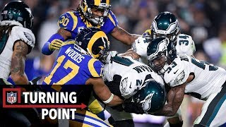 How Jared Goff's Stumble and Fumble Gave the Eagles a Win in Week 15 | NFL Turning Point