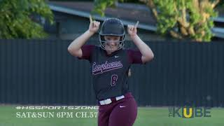 Alvin Yellowjackets vs George Ranch Longhorns 4-27-18 PLAYOFFS