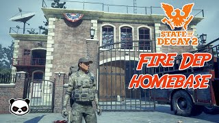 State of Decay 2 Fire Station Best Homebase/Homestead