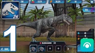 Jurassic World: The Game - Gameplay Walkthrough Part 1 - Level 1-4 (iOS, Android)
