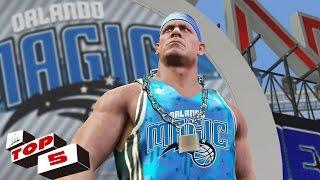 WWE 2K17 : Top 5 John Cena Attires (Thuganomics, Wrestlemania, Royal Rumble)