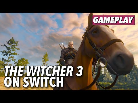 The Witcher 3 Does The Best It Can On The Switch