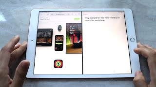 How To Split Screen Multitask On iPad 8th Generation!