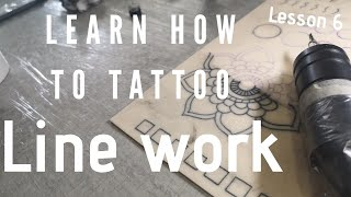 LEARN HOW TO TATTOO - LESSON 6 MANDALA TATTOO