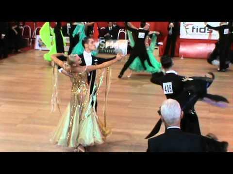 Preview video Gabriele Castellani & Yana Zaitseva (Italy) - Slowfox | Roma Open 2014