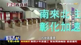 【TVBS】去田中多1倍時間! 彰化人都到台中搭高鐵
