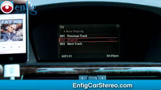 BMW 5 Series E60 Bluetooth ipod aux USB Adapter