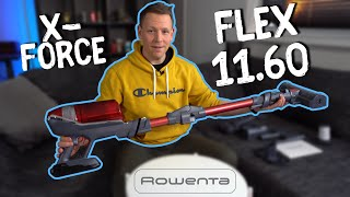 Rowenta X-Force Flex 11.60 Animal - Kabelloser Staubsauger mit 45 Minuten Laufzeit