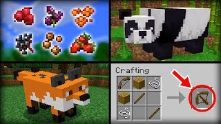 ✔ Minecraft 1.14 Update   15 Features That Will Be Added