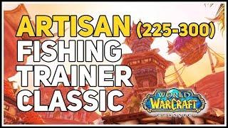 wow classic fishing trainers