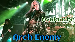 Arch Enemy - Avalanche - The Circus - Helsinki, Finland 2017 10 01 LIVE 4K