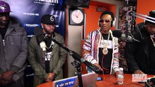 Friday Fire Cypher: Rich The Kid Spits a Live Freestyle | Sway's Universe