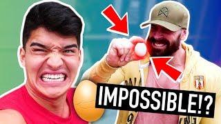 Worlds Strongest Man VS EGG CHALLENGE!