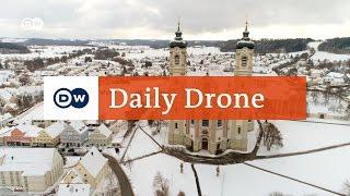 #DailyDrone: Kloster Ottobeuren, Bayern