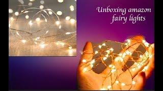 Unboxing Amazon Fairy Lights!