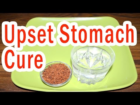 Video Home Remedy to Treat Upset Stomach
