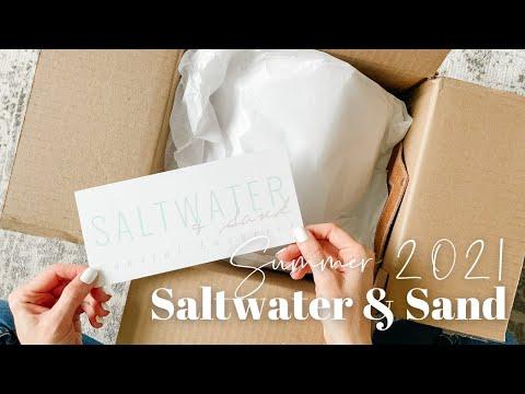 Saltwater & Sand Unboxing Summer 2021