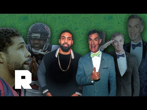 Bill Nye the Science Guy Has Bars | Bill Nye & Arian Foster | The Ringer