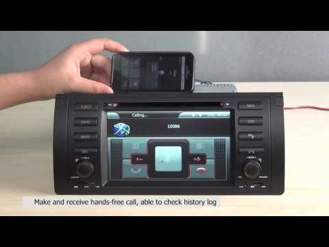 BMW 5-E39/BMW X5-E53 DVD Navigation System with 7 Inch HD touchcreen