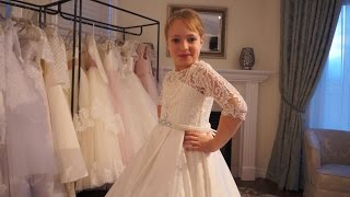 FLOWER GIRL DRESS TAMPA FROM MIA BAMBINA BOUTIQUE!