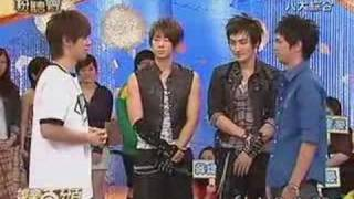 vanness and kangta play a game