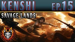 Kenshi Savage Lands - EP14 - THE NIGHTMARES IN THE DARK