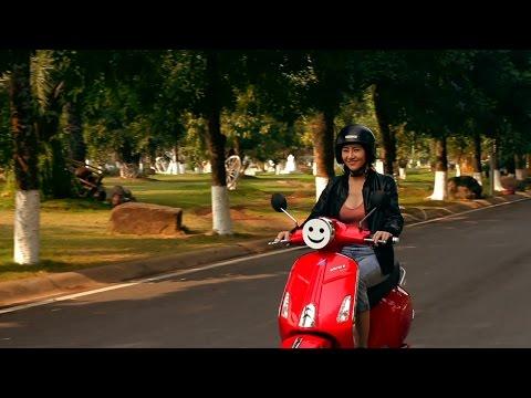 Quảng cáo xe máy điện Espero Vespa