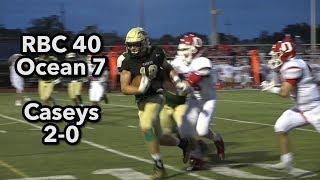 Red Bank Catholic 40 Ocean Township 7 | MJ Wright 46 yard pick six