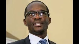 IT IS WELL: Ezra Chiloba leads mourners in song at Chris Msando's memorial service